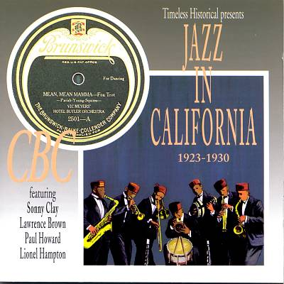 Jazz in California 1923-1930