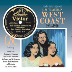 Jazz on Americas West Coast 1924-1930